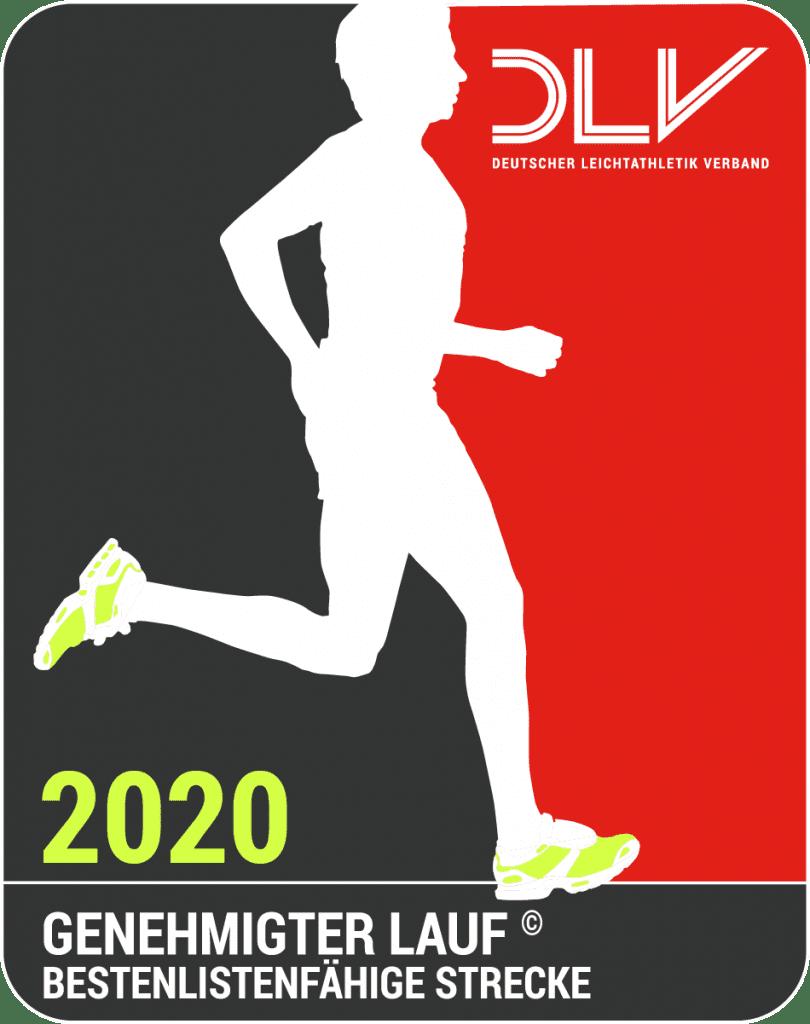 Genehmigter Lauf 2020 mit Bestenlisten-fähiger Strecke