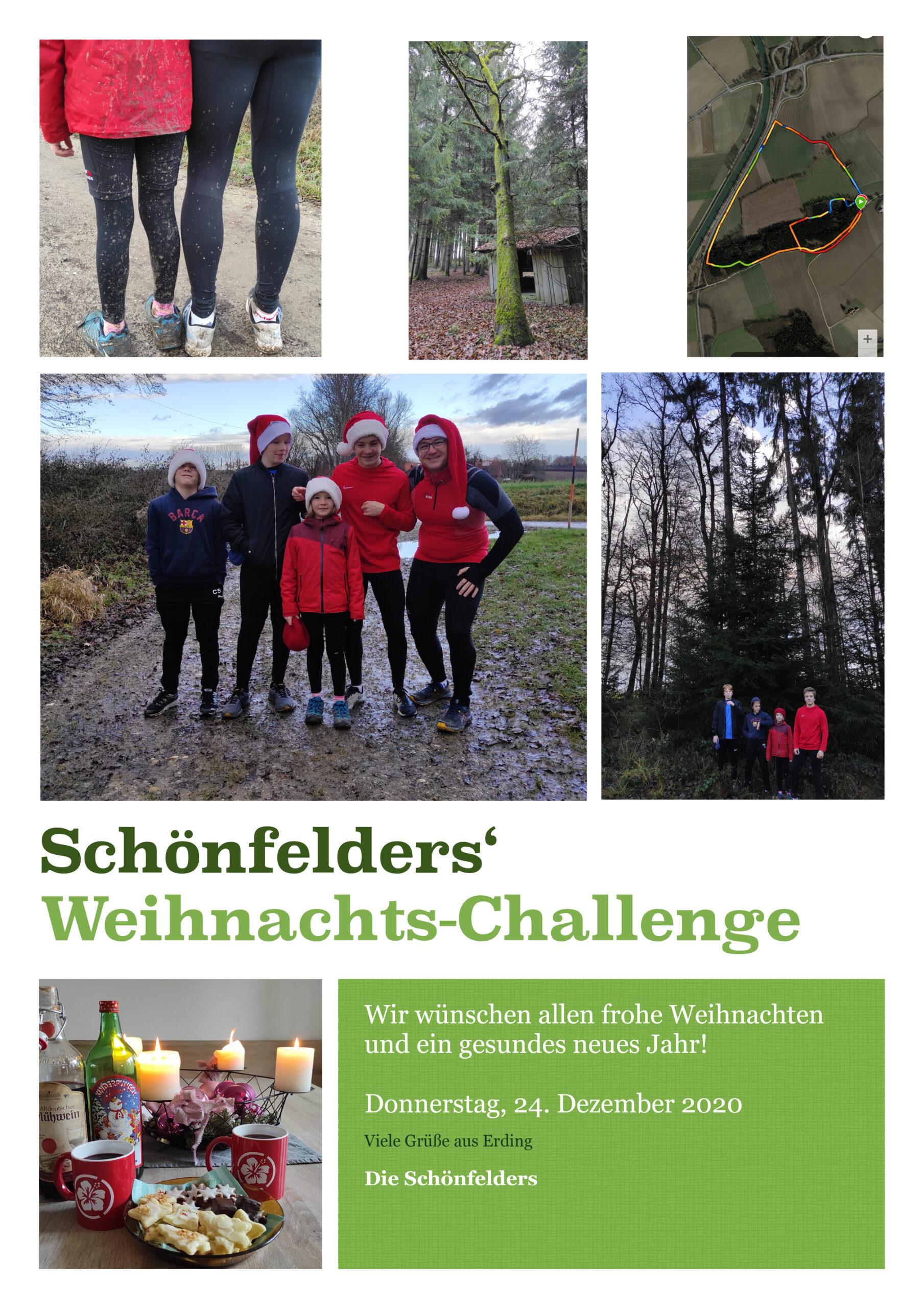 Schönfelders' Weihnachts-Challenge